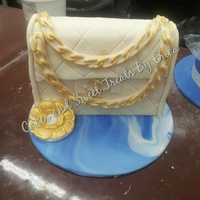 Chanel Bag Cake from Cakes and Sweet Treats by Erica