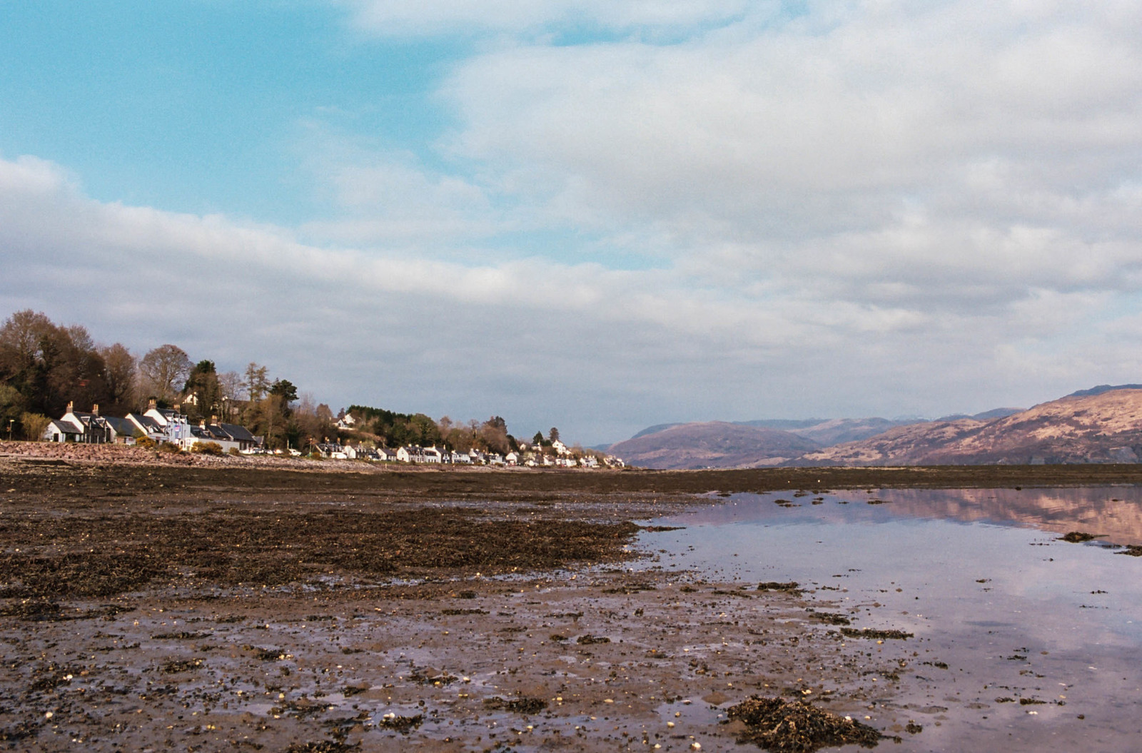 Lochcarron, west Scotland taken on Olympus OM10.