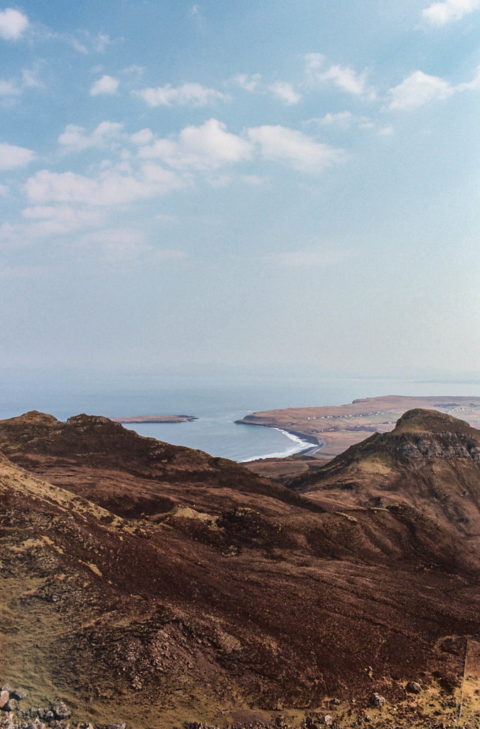 The west coast of the Isle of Skye as seen from the Quiraing.