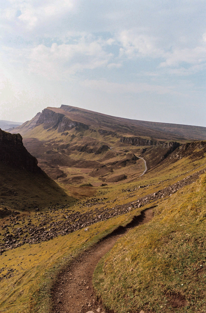 The Quiraing shot on Ektar 100 & Olympus OM10.