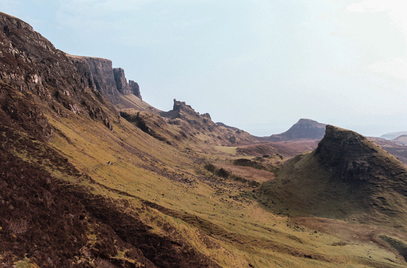 The Quiraing taken on Kodak Ektar 100