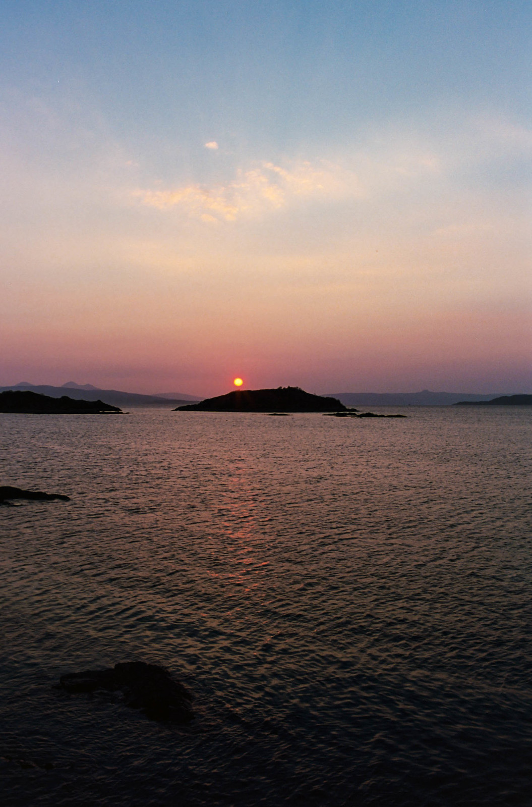 Sunset at Badicaul, Kyle of Lochalsh