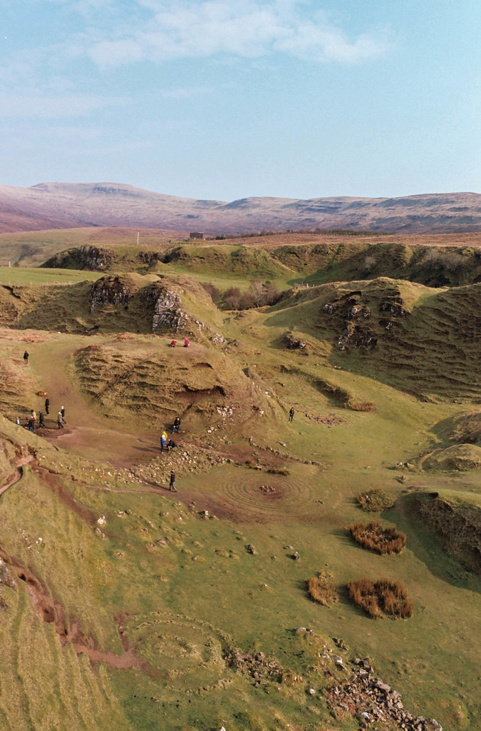The Fairy Glen, Isle of Skye taken on Kodak Ektar 100