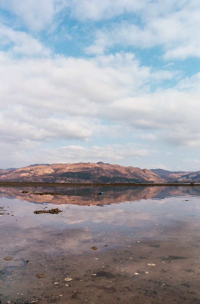 Reflections at Lochcarron.