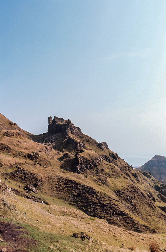 The Quiraing, Isle of Skye, shot on film.