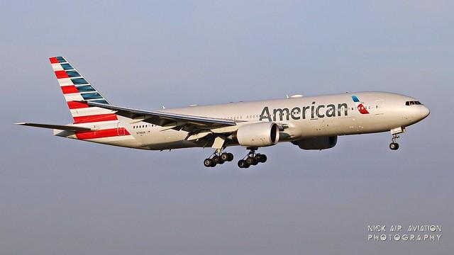 N798AN American Airlines Boeing 777-223