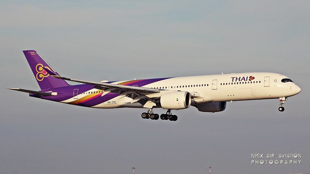 HS-THC Thai Airways International Airbus A350-941