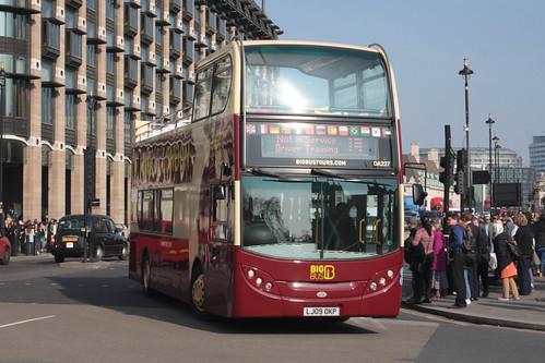 Big Bus Tours DA227 LJ09OKP