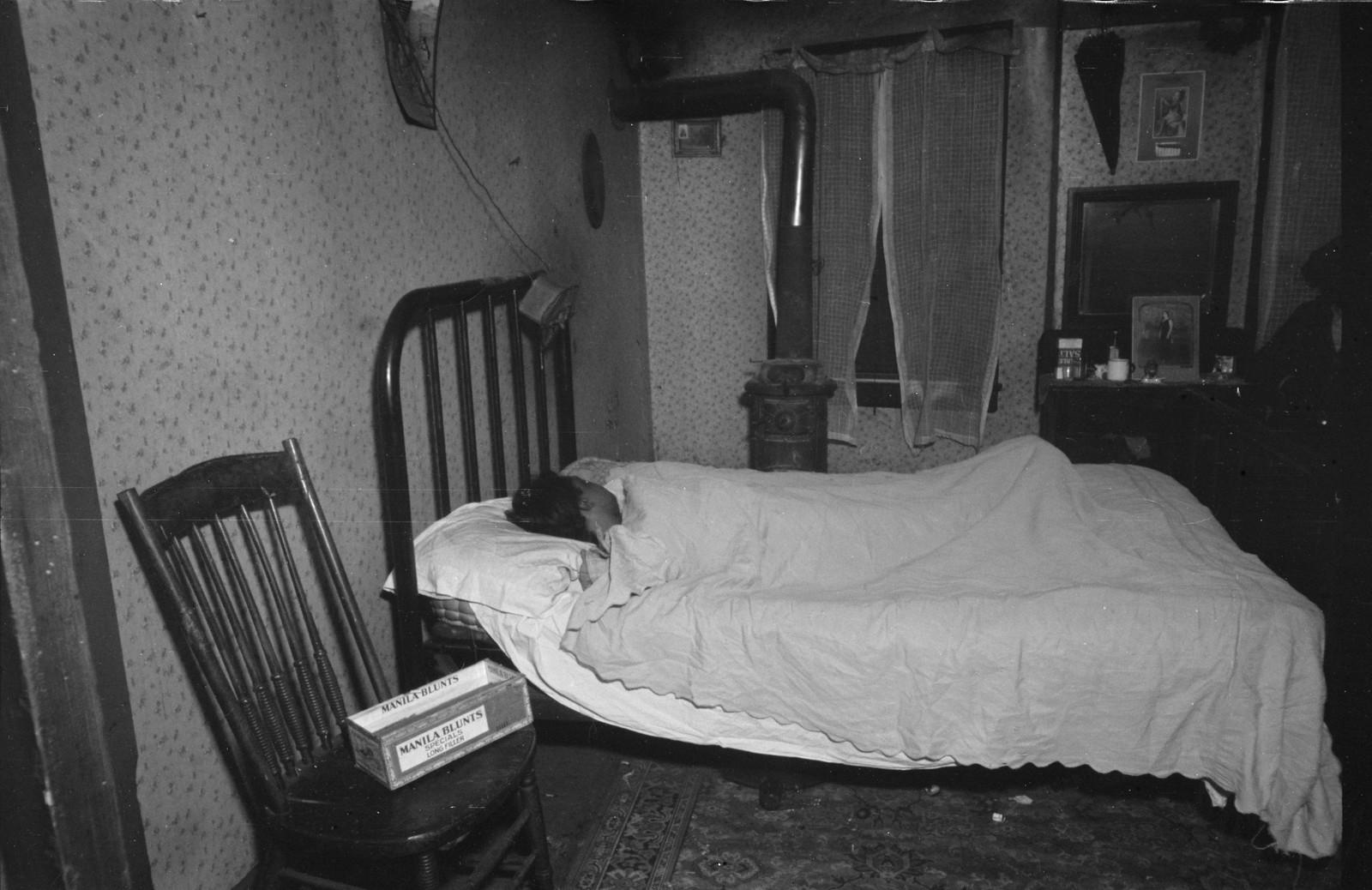 14. Спальня в доме Ван Хорн-стрит, Hamilton Co., Огайо