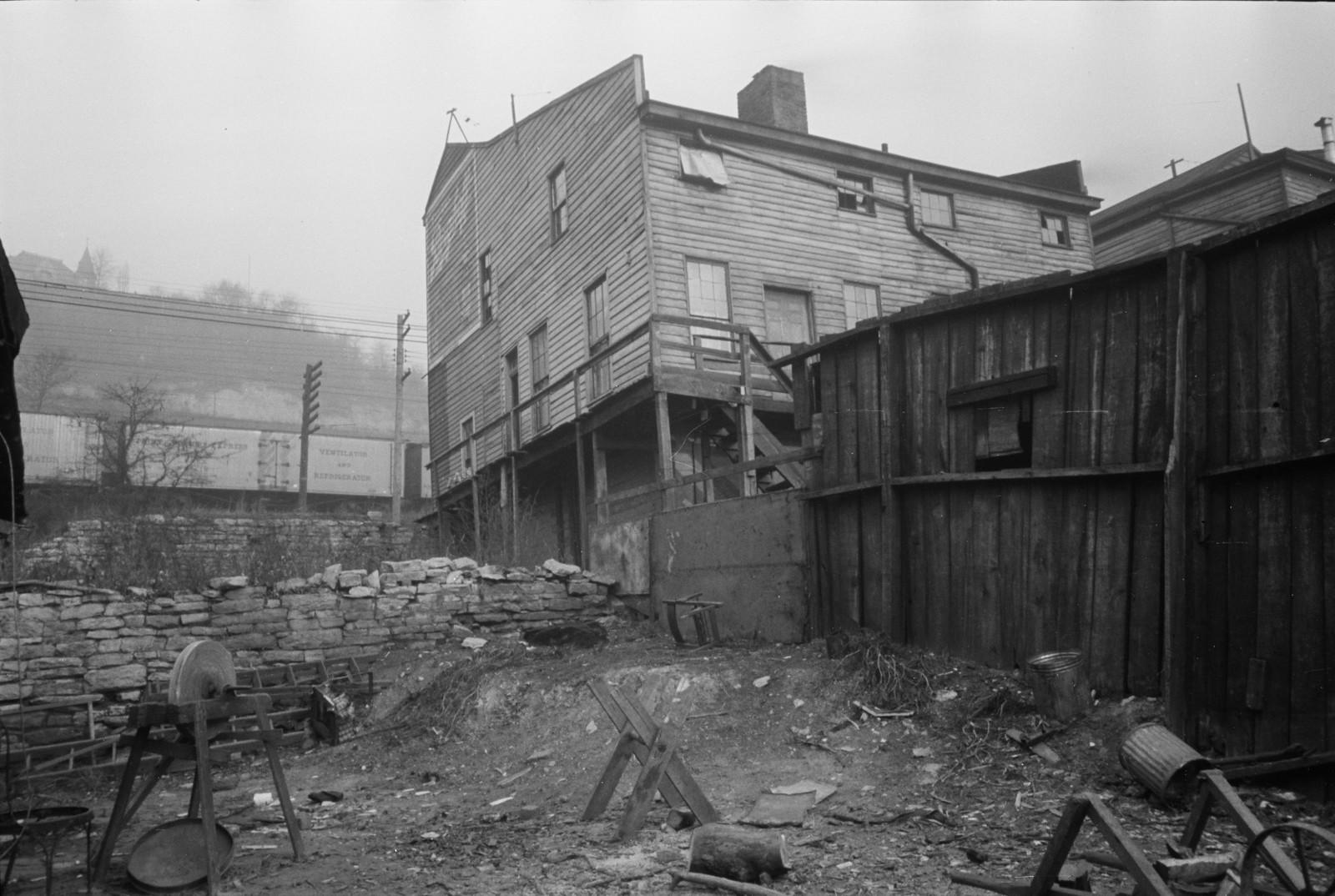 04. Типичные убогие дома, округ Гамильтон, Огайо