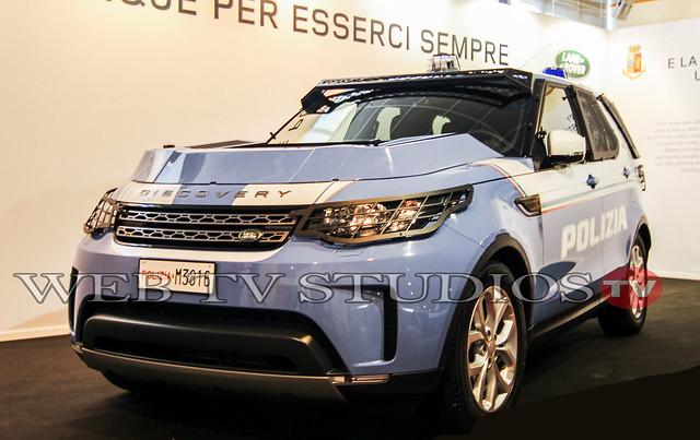 Polizia di Stato: Consegnate 30 Land Rover Discovery La Partnership Trentennale