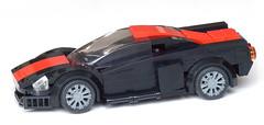 Street racer - red stripe 03