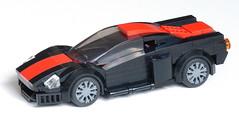 Street racer - red stripe 02