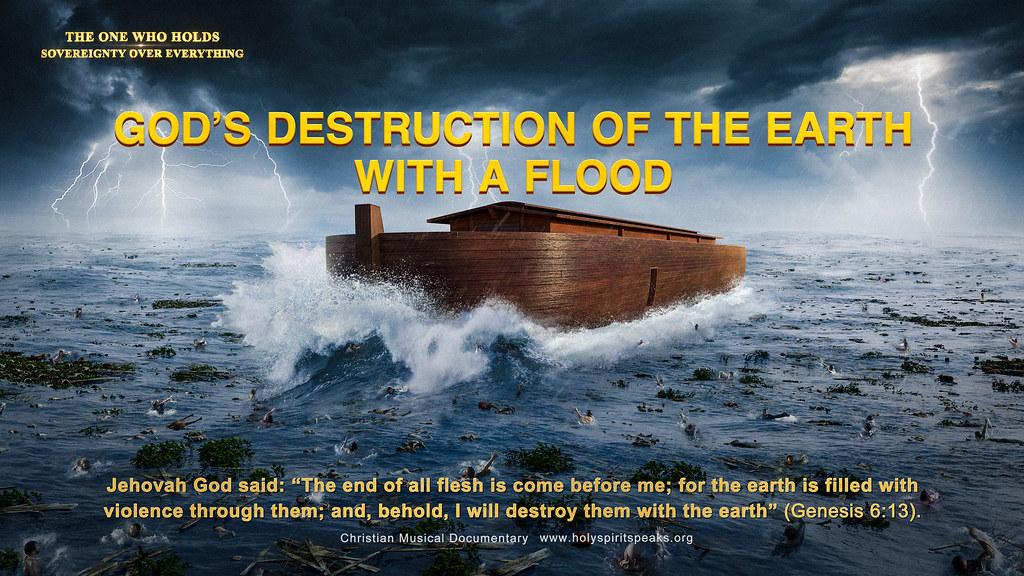 Best Christian Movie Clip - God's Destruction of the Earth With a Flood