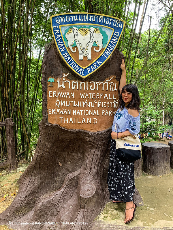 2019 Thailand Kanchanaburi Water Falls-1
