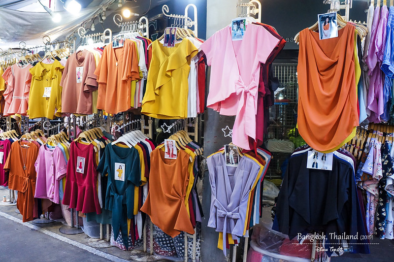 2019 Thailand Bangkok Shopping