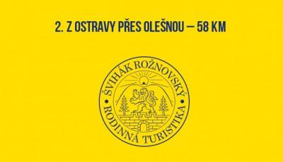 2. Z Ostravy přes Olešnou – 58 km