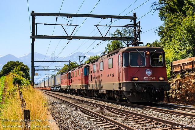 SBB 11325, 11271 and 11341, Einigen