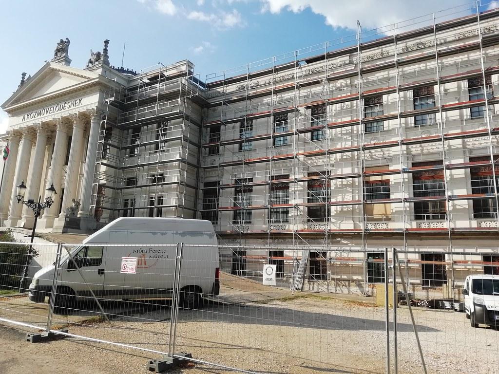 Jó tempóban halad a Móra Ferenc Múzeum felújítása