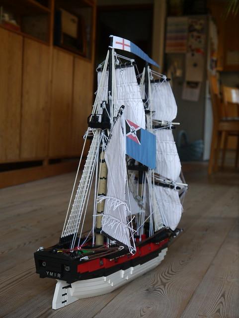 HMS Ymir finally finished