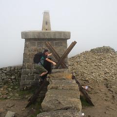 Slieve Donard (850m) Summit