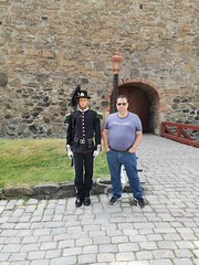 Me with the Guard.