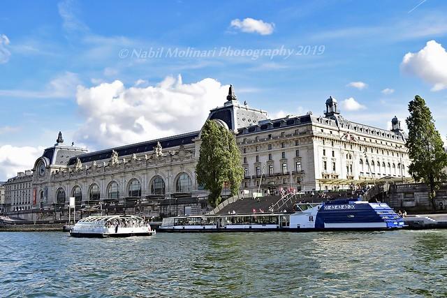 Cityscape : Gare & then Musée d'Orsay