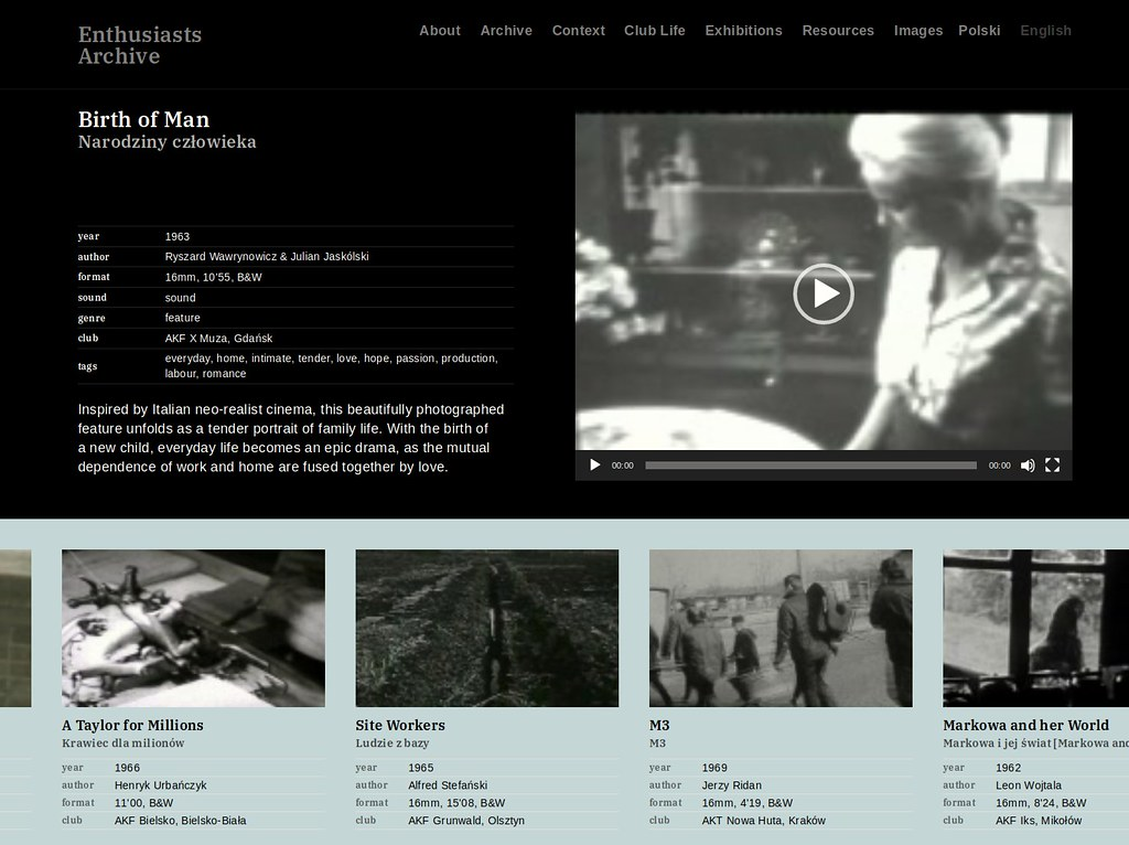 Enthusiasts Archive