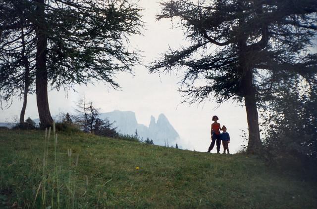 lo Sciliar dall'Alpe di Siusi