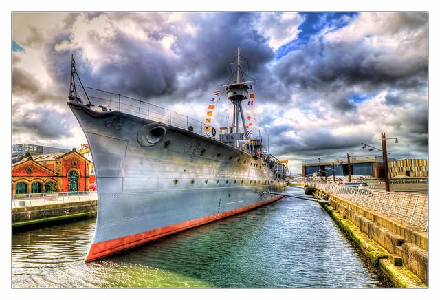 Belfast NIR - HMS Caroline 03