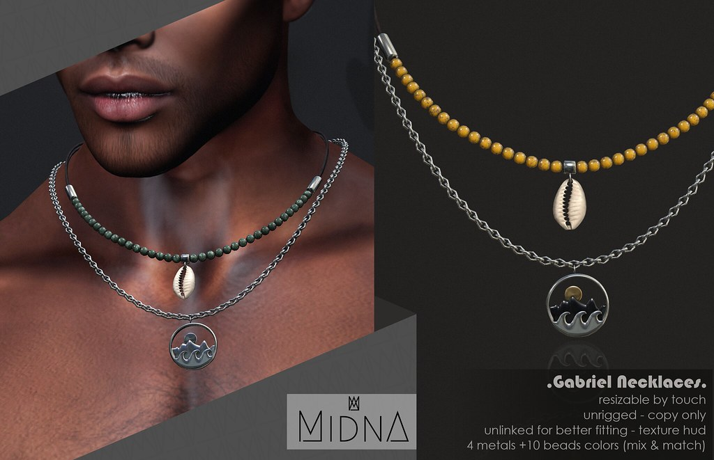 Midna – Gabriel Necklaces
