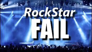 舞台上下的各種糗事 ─ RockStar FAIL