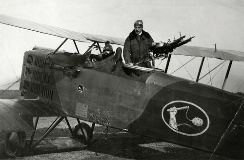 Breguet 14A2 reconnaissance aircraft WW1.