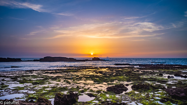 Sunset in Essaouira (Morocco)
