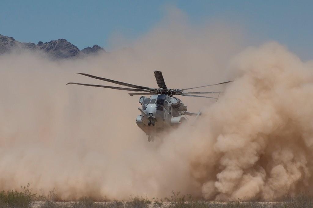 CH-53K DVE Testing 1