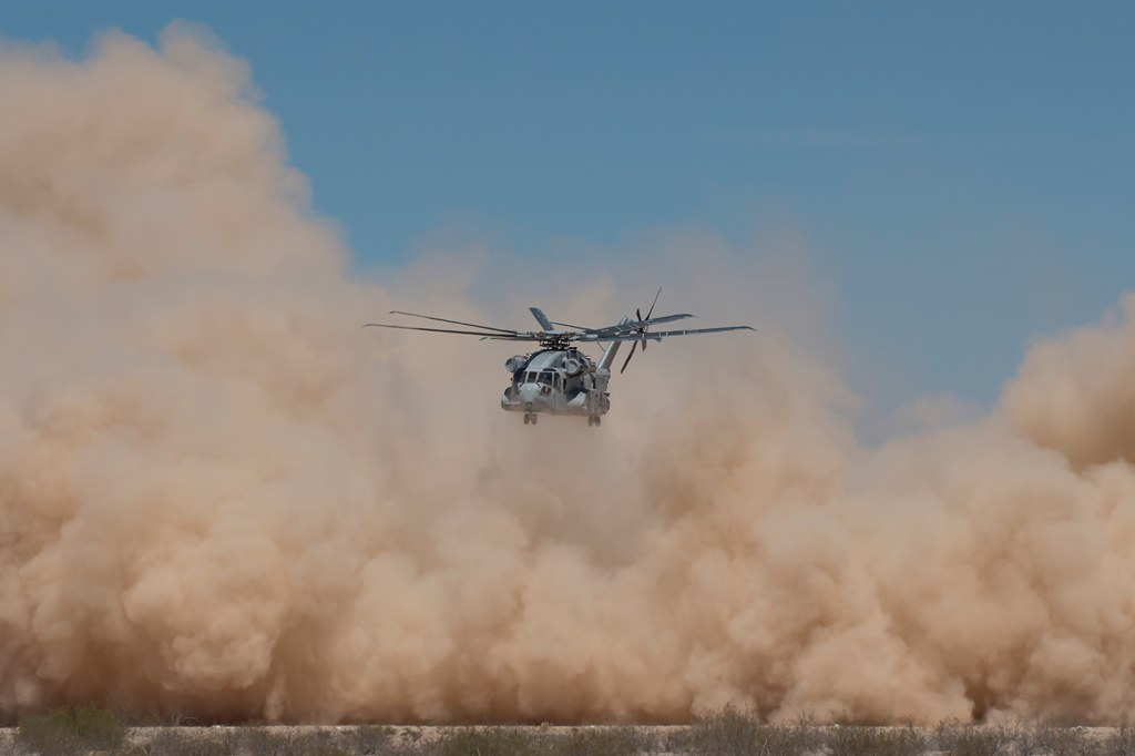 CH-53K DVE Testing 4