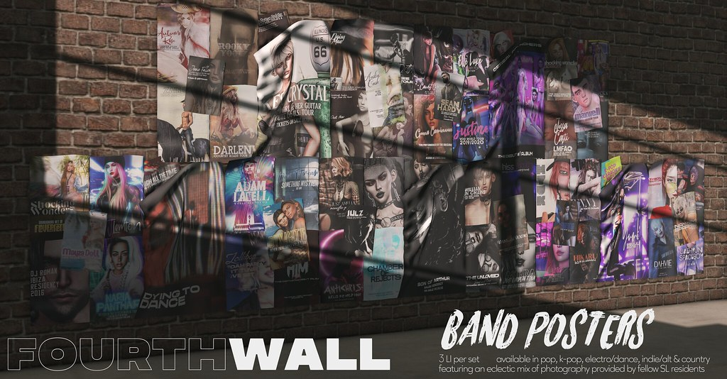 Fourth Wall / Band Posters / FeverFete