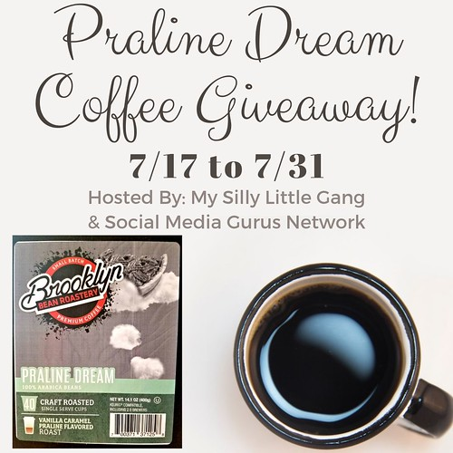 Praline Dream Coffee Giveaway ~ Ends 7/31 @BrooklynBeans1 #MySillyLittleGang