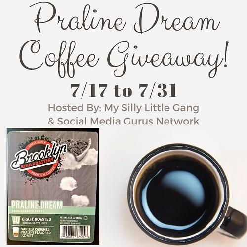 Praline Dream Coffee Giveaway ~ Ends 7/31 @BrooklynBeans1 #MySillyLittleGang