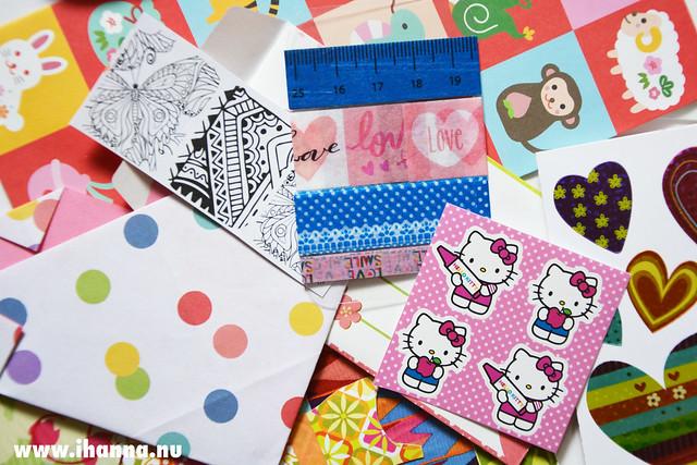 Bonus content for swap hostess iHanna in the DIY Postcard Swap