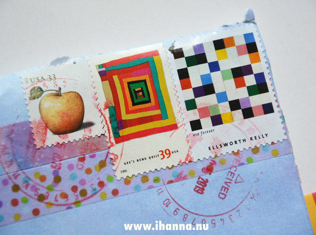 Quilt designs - Postal Stamps from the US