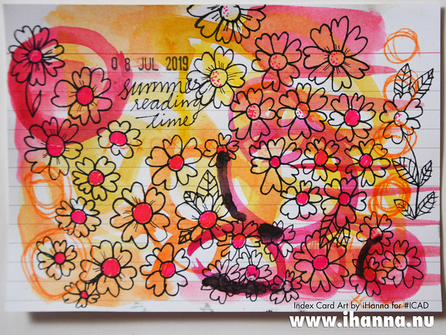 Index Card Art 2019-07-08 ICAD by iHanna