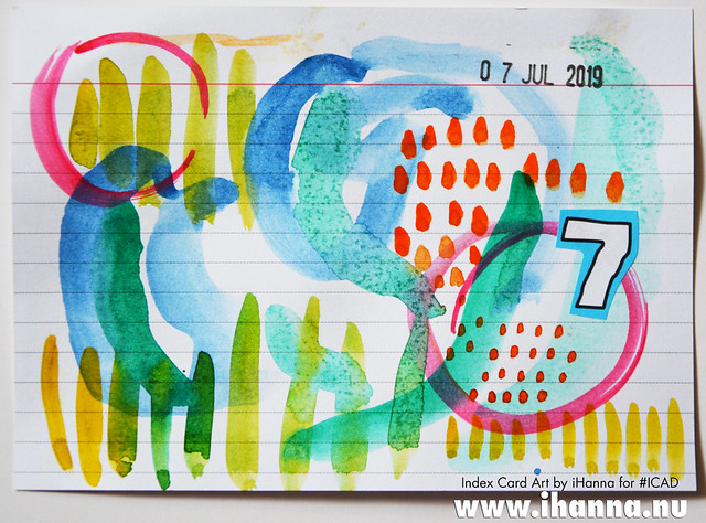 Index Card Art 2019-07-07 ICAD by iHanna