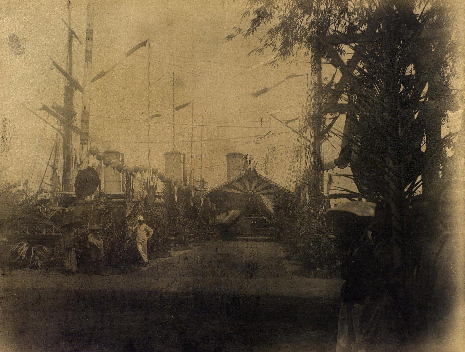 18. 1891. Сиам. Фрегат «Память Азова» в гавани