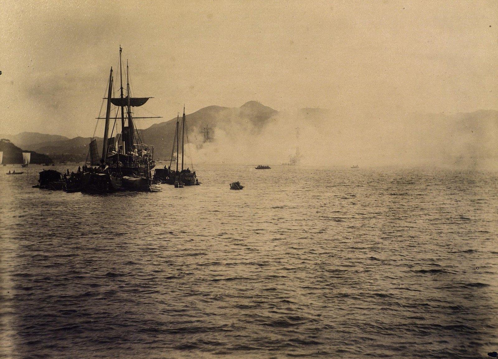 15. 1891. Сиам. Вид гавани