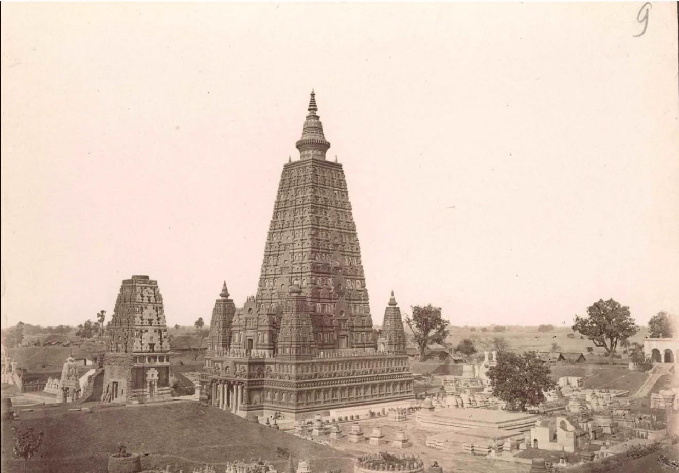 09. 1890. Индия. Храм Махабодхи