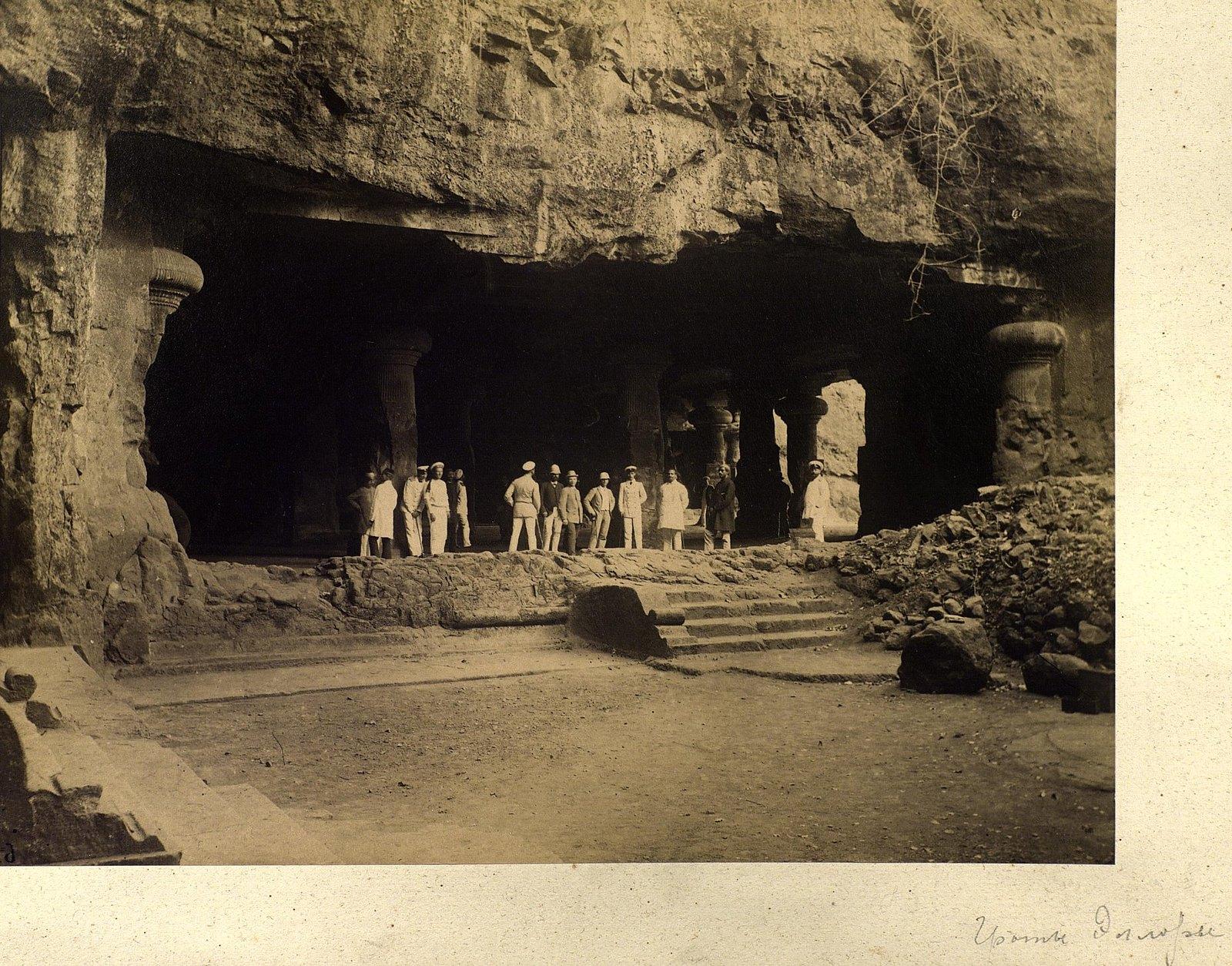 03. 1890. Индия. Посещение пещер Эллоры. Штат Махараштра