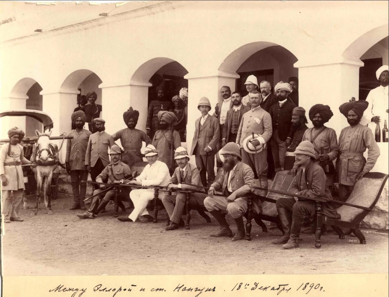 04. 1890. Индия. Между Эллорой и ст.Нангун. Штат Махараштра