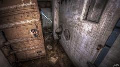 Casemate XIII hallway urinal