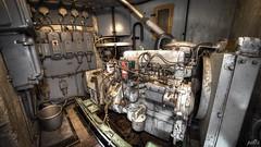 Casemate IV Generator in separate underground bunker